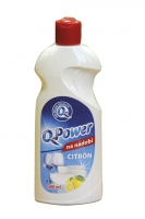 Q POWER NA NÁDOBÍ CITRON 500 ml